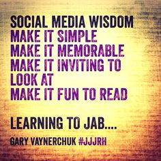 #jjjrh by @Gary Vaynerchuk -best and most practical #socialmedia wisdom for 2014 - buy it!