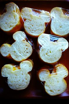 mickey bread :)