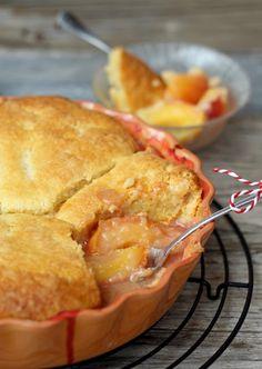 butter hearts sugar: Nectarine Cobbler