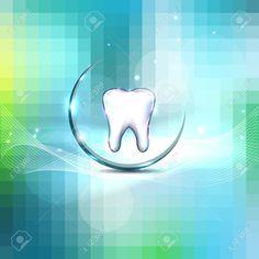 Hermosa Dental Diseño Limpio Y Fresco Sensación, Diente Blanco Y ...