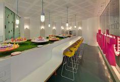 Adriano Zumbo at The Star, Sydney. Interior by Luchetti Krelle. #AdrianoZumbo #interior #dessert #LuchettiKrelle
