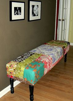 scrap fabric upholstery