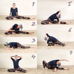Try this #stretching sequence today #yogastretch #backstretch