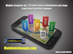 Mobile Coupons redemption rate