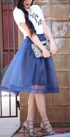 Blue beauty @chicwish