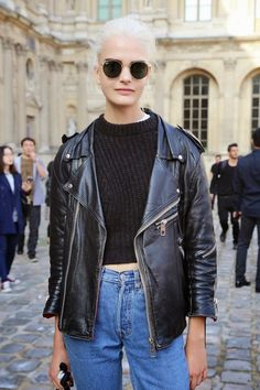 Click here to see best oversize leather jackets: http://www.slant.co/topics/5136/~oversize-black-moto-leather-jackets