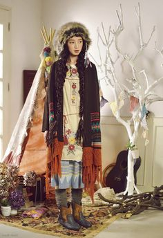 A cute tree with banners oh my gosh Tokyo Street Fashion, Japanese Street Fashion, Grunge Style, Soft Grunge, Grunge Outfits, Fashion Outfits, Fashion Styles, Vivienne Westwood, Le Happy