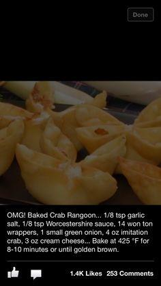 Crab Ragoons
