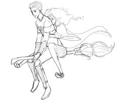 Hey Granger, want a ride? by aeasel :: Hawthorn & Vine