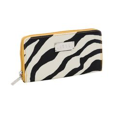 I pinned this Jessica Wallet in Zebra & Yellow from the Gifts for Yourself event at Joss and Main!