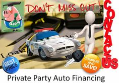 Auto Loan for Private Party
