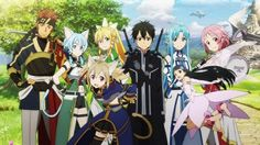 ✿ #anime #sao #boys #girls ✿