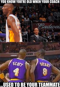 Heres a little history lesson about Byron Scott and Kobe Bryant. - Funny Sports - - Heres a little history lesson about Byron Scott and Kobe Bryant. The post Heres a little history lesson about Byron Scott and Kobe Bryant. appeared first on Gag Dad. Kobe Memes, Funny Nba Memes, Funny Basketball Memes, Nfl Memes, Basketball Pictures, Football Memes, Really Funny Memes, Kobe Bryant Memes, Memes Humor