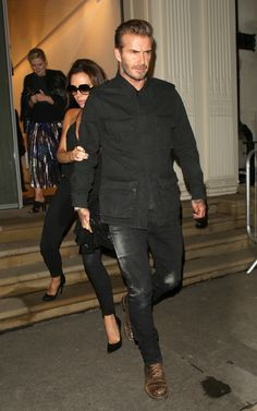 David Beckham Is a Style Robot, Lenny Kravitz Wears a Breast Plate, an | GQ