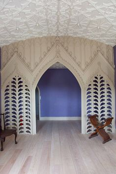 Strawberry Hill House, Holbein Room | Flickr - Photo Sharing!
