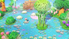 Animal Crossing Amiibo Cards, Animal Crossing Funny, Animal Crossing Villagers, Animal Crossing Pocket Camp, Pond Animals, Cute Animals, Motif Tropical, Tropical Pool, Pink Island