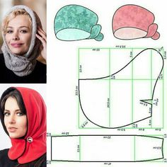 Hat Patterns To Sew, Clothing Patterns, Dress Patterns, Sewing Patterns, Sewing Class, Love Sewing, Mode Turban, Baby Girl Hair Accessories, Crochet Boots