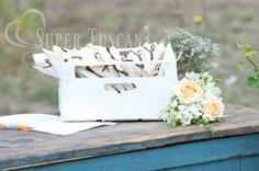 Wedding Country Chic Style: Country idea for  the wedding ceremony booklet www.supertuscanweddingplanners.com