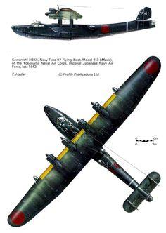 Kawanishi 4-silnikowe latające Łodzie