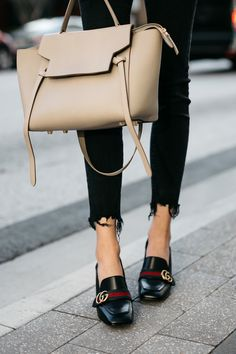 Fashion Jackson Gucci Black Peyton Block Heel Pumps Celine Belt Bag  Madewell Black Skinny Jeans Black 53f25f4713a80