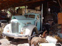 Old International Trucks | king mine ghost town international truck an old international truck ...