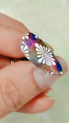 27 Cute Curly Hairstyles Design Ideas for Teenage in 2019 Feather Nail Designs, Purple Nail Designs, Nail Polish Designs, Cute Nail Designs, Nail Art Designs Videos, Nail Art Videos, Peacock Nail Art, Nail Art For Beginners, Super Cute Nails