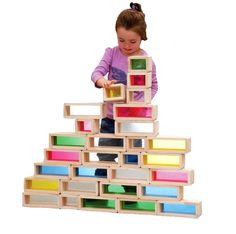 Rainbow Bricks from Spectrum Educational Ltd