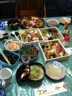Japanese Osechi food