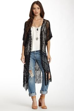 Groupie Love Wrap Sweater by Meghan Fabulous on @HauteLook