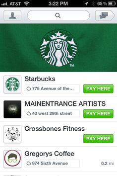 Hands On With Square Wallet, Now Ready For Lattes at Starbucks | Gigaom 11/7