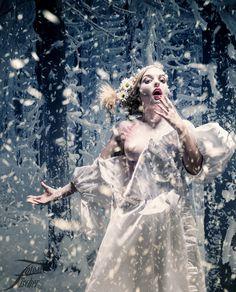 Alisa im Schnee....