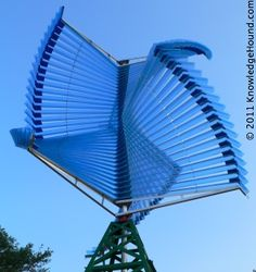 A type of VAWT, or vertical axis wind turbine.