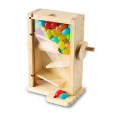 Wood crafting kit for O- Red Tool Box Candy Maze