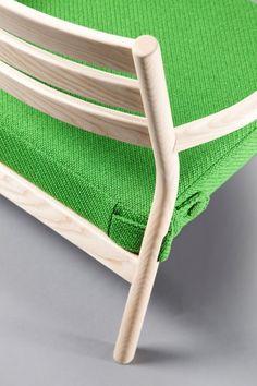 Jed armchair by David Irwin