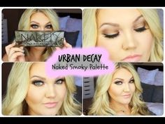 ★ NEW URBAN DECAY NAKED SMOKY PALETTE | SUMMER SMOKY EYE + MINI REVIEW★ - YouTube
