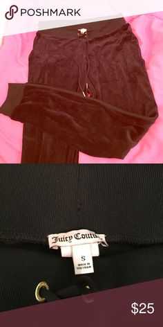 Juicy track pants Super comfy and worn worn once great condition! Juicy Couture Pants Track Pants & Joggers