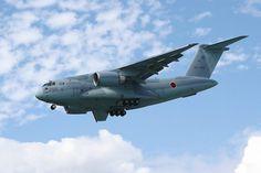 Kawasaki XC-2 military transport aircraft