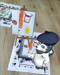 "Green Eduland Kindergarten on Instagram: ""Fun art with #quiver"" Fun Art, Cool Art, Quiver, Kindergarten, Community, Play, Green, Color, Instagram"