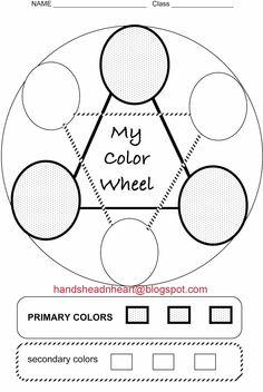 Hands, Head 'n Heart in the Artroom: Color wheel