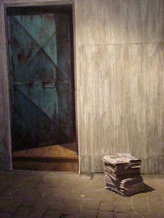 Luis Núñez San Martín, pintor #Antofagasta #Chile. Instalación / expo EMPATÍAS