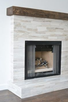 Marble Fireplace Makeover | Centsational Girl