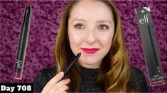 ELF MATTE LIP COLOR REVIEW | BERRY SORBET - YouTube