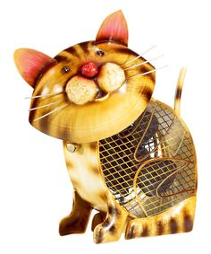 Another great find on #zulily! Country Cat Metal Fan by DecoBreeze #zulilyfinds