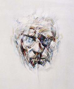 Louis Le Brocquy, Image of Samuel Beckett