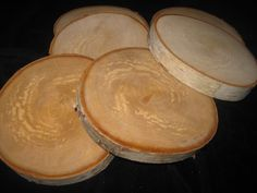 Birch Bark Tree Slices for Wedding Centerpieces  by FloralAccents, $9.90