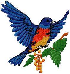 birds embroidery design | Machine Embroidery design