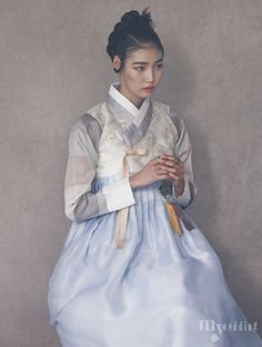 Kim Hye Ah by Kim Bo Ha for My Wedding Korea Jan 2016