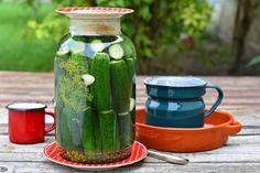 Jól behűtve, a legjobb ami nyáron kísérhet egy pörköltet! És még sok mást... Pickles, Cucumber, Vegetables, Recipes, Food, Essen, Vegetable Recipes, Meals, Eten