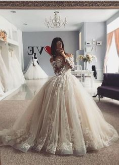 Delicate Lace Tulle Wedding Dress Ball Gown Floral Appliques Long Sleeve Princess Bridal Gowns Luxury White Wedding Dresses Lace A Line Straps Wedding Dresses With Train . Luxury White Wedding Dresses Lace A Line Straps Wedding Dresses With Tr. Wedding Dress Cinderella, Wedding Dress Mermaid Lace, Wedding Dress Backs, Princess Wedding Dresses, Long Wedding Dresses, Tulle Wedding, Bridal Dresses, Wedding Gowns, Lehenga Wedding