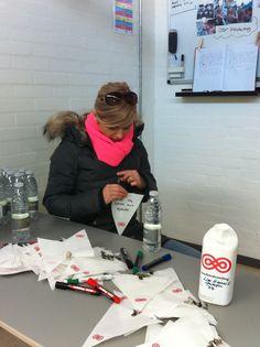 """Miriam Birk: """"Fordi jeg gerne vil hjælpe"""". #landsindsamling #visflaget"""